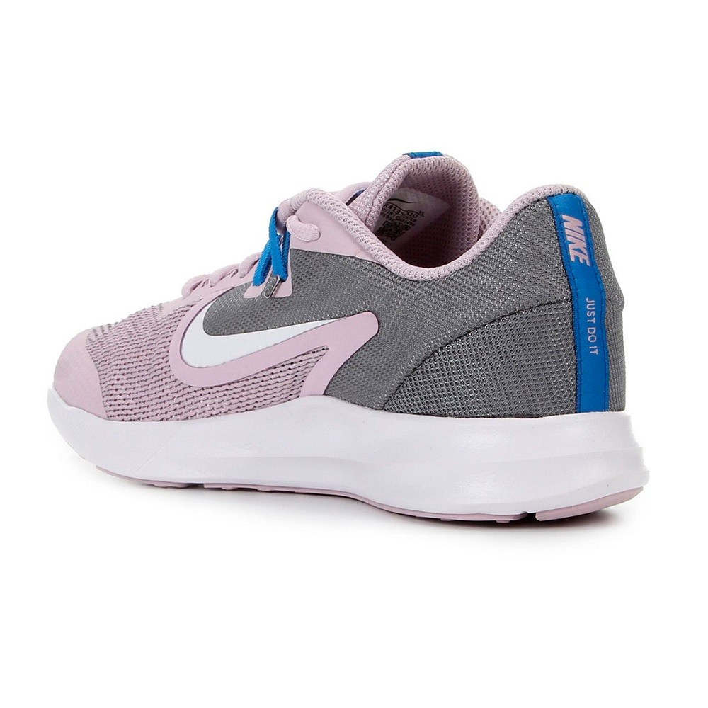 Tênis Nike Downshifter 9 GS Infantil Lilás Branco