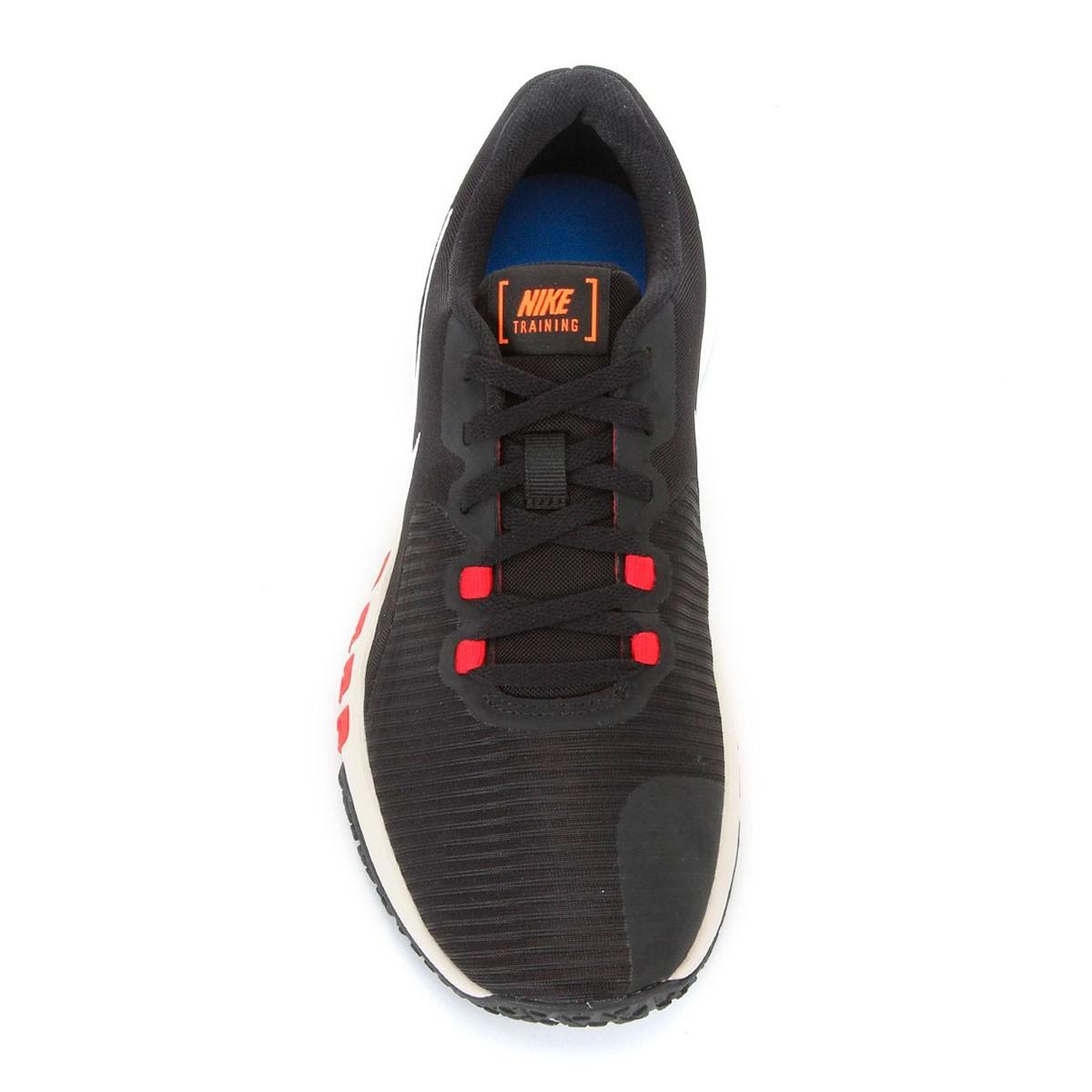 Tênis Nike Flex Control TR4 Preto Vermelho