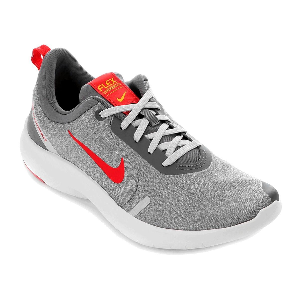 Tênis Nike Flex Experience Run 8 Masculino Cinza