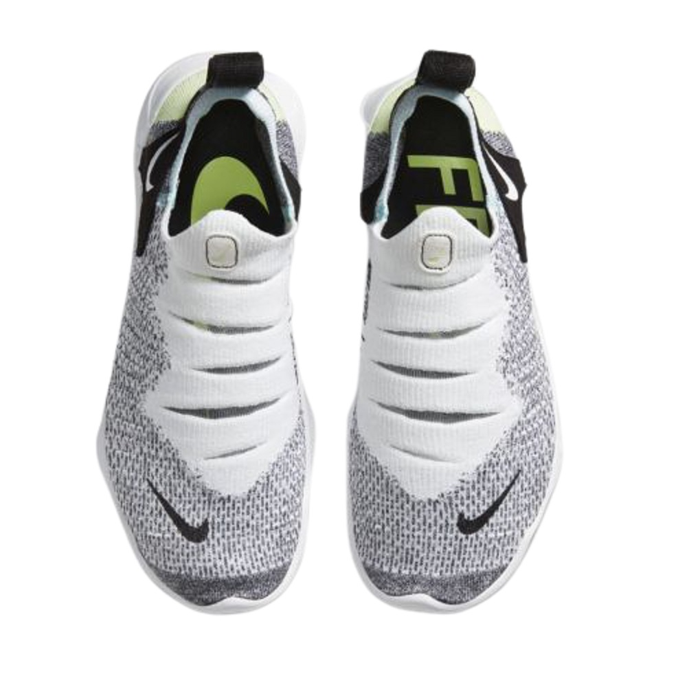 Tênis Nike Free RN Flyknit 3.0 Feminino Branco Cinza