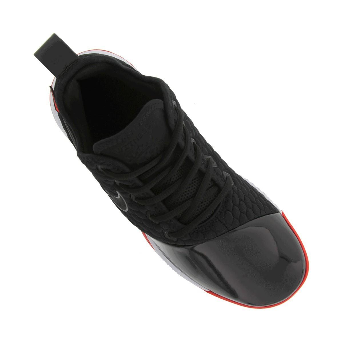 Tênis Nike Lebron Witness III Premium Preto Vermelho