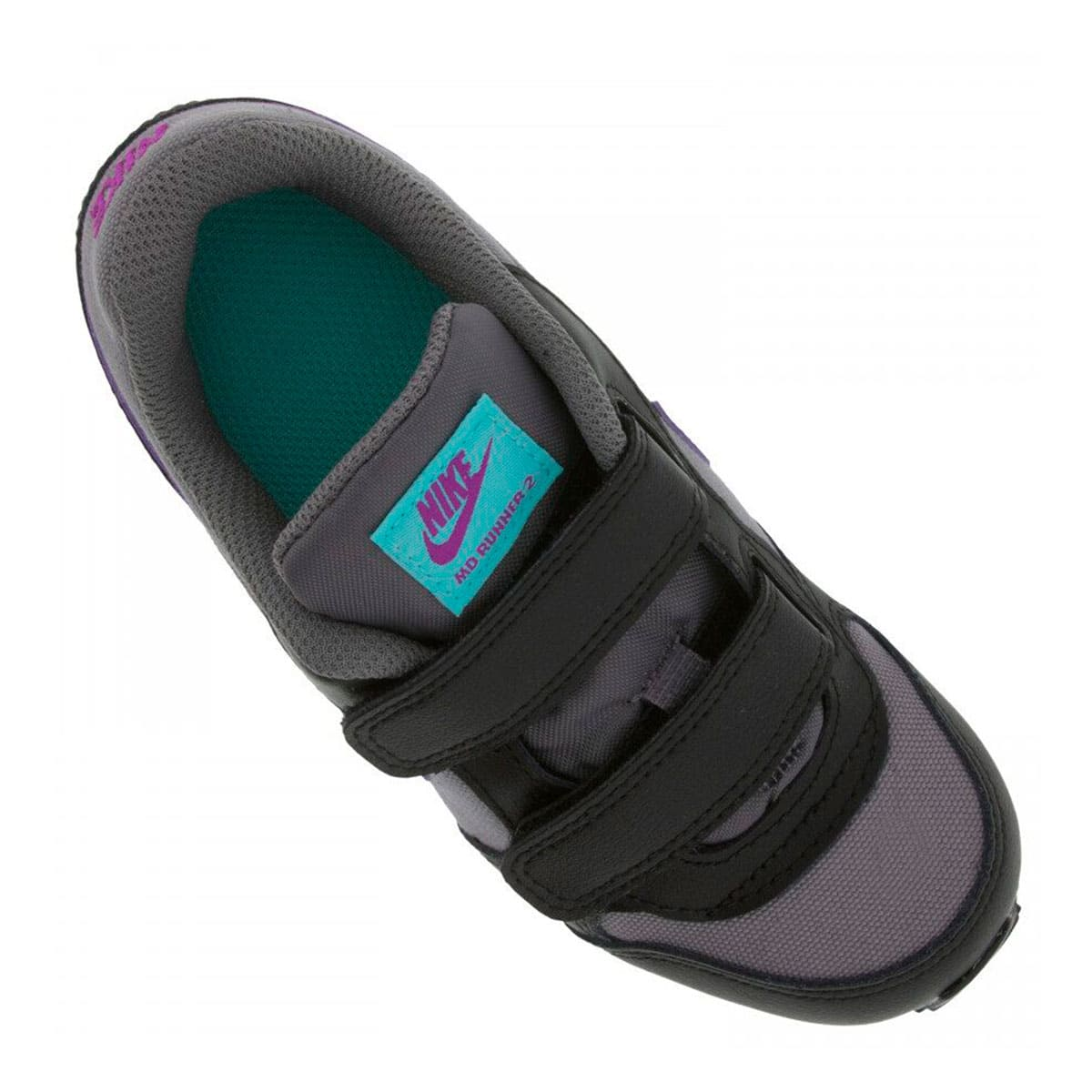 Tênis Nike MD Runner 2 Infantil Cinza Roxo