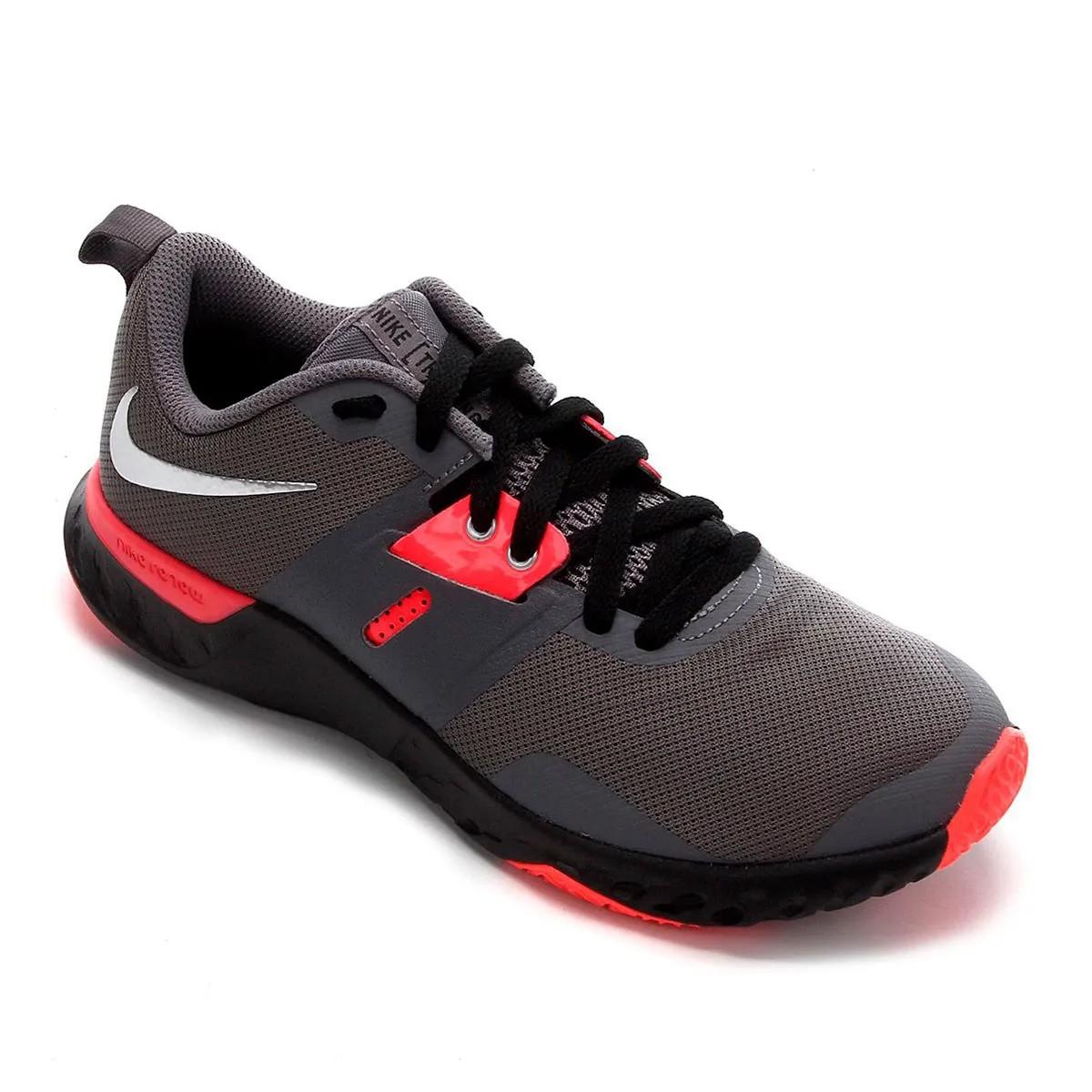 Tênis Nike Renew Retaliation TR Cinza Neon