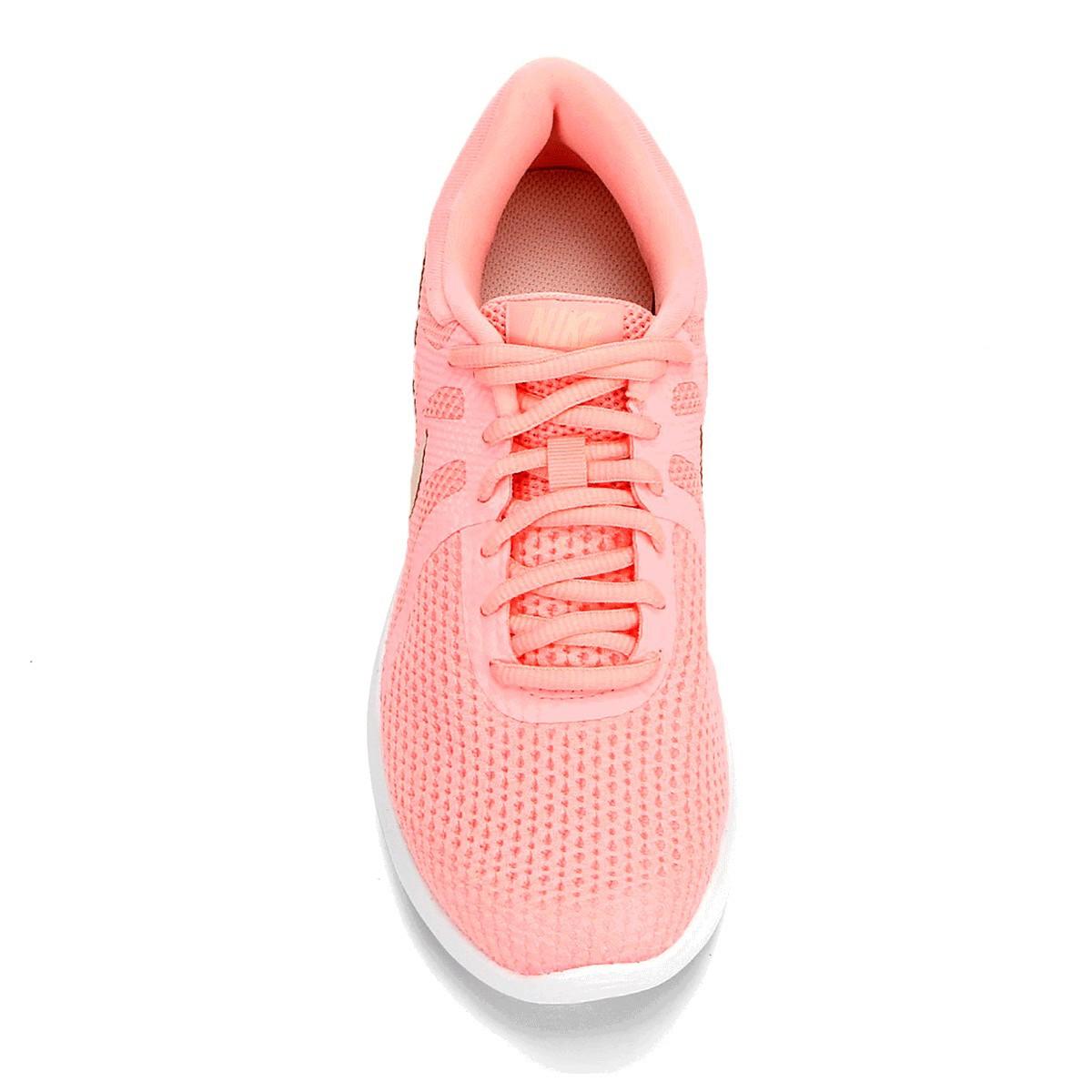 Tênis Nike Revolution 4 Feminino Rosa