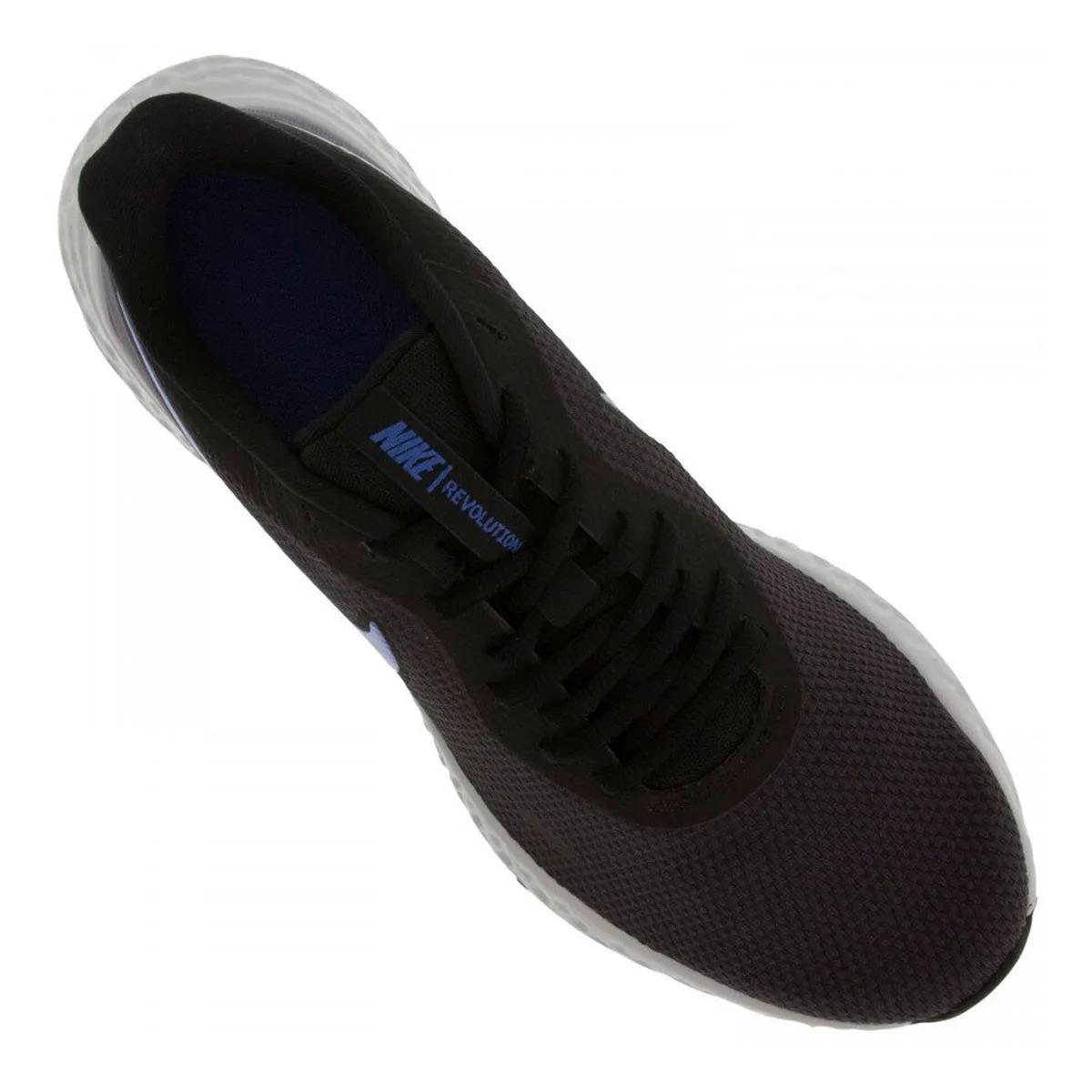 Tênis Nike Revolution 5 Cinza Escuro