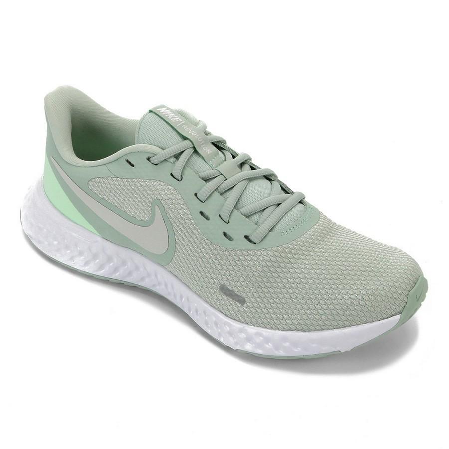 Tênis Nike Revolution 5 Feminino Verde Claro