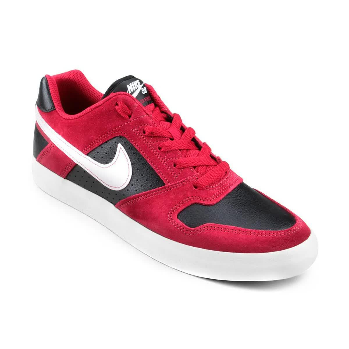 Tênis Nike SB Delta Force Vulc Vermelho