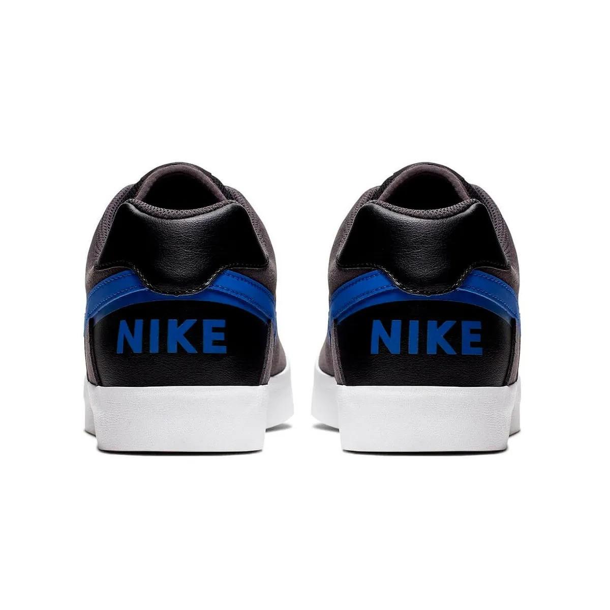 Tênis Nike SB Zoom Delta Force Vulc Cinza Azul