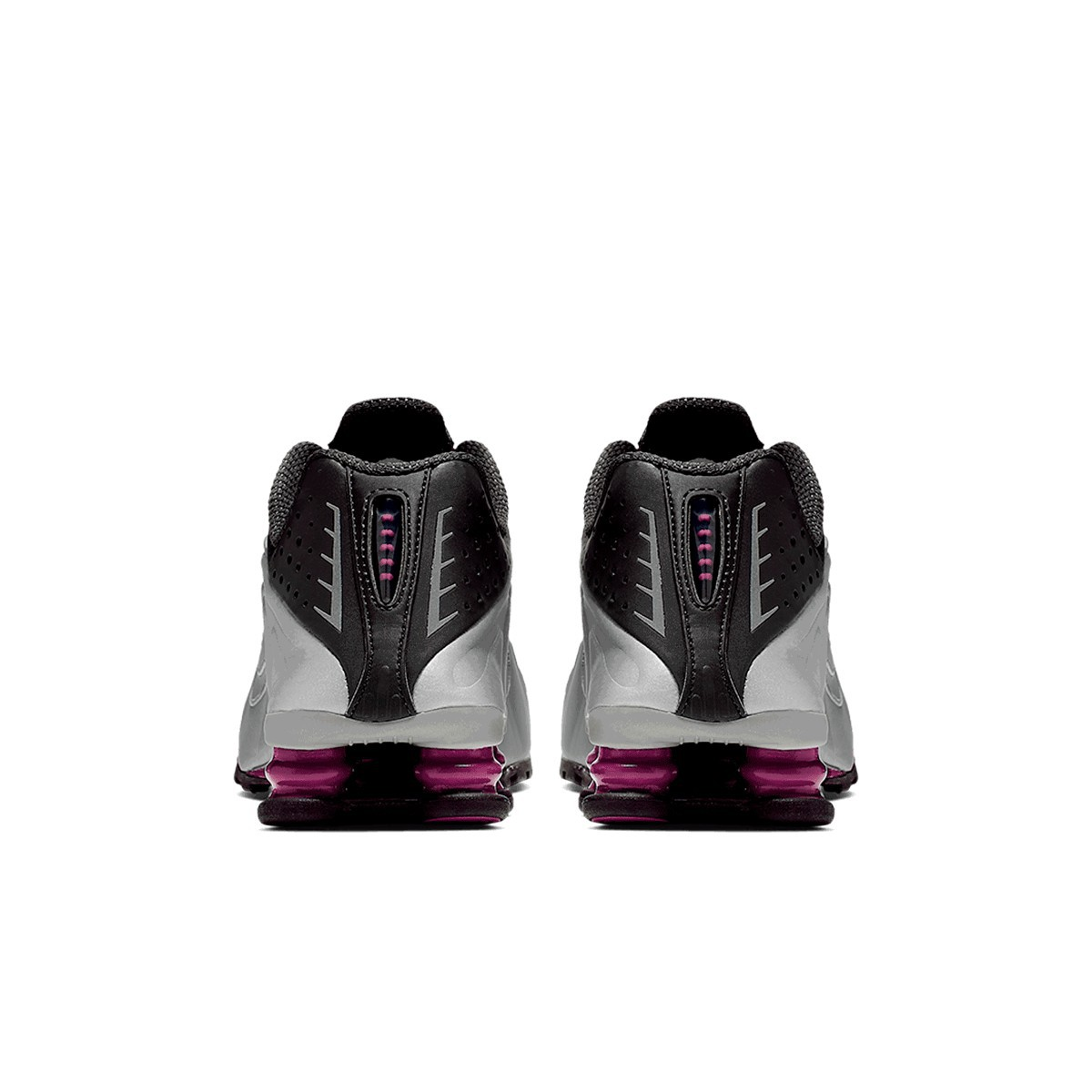 Tênis Nike Shox R4 Feminino Prata Roxo
