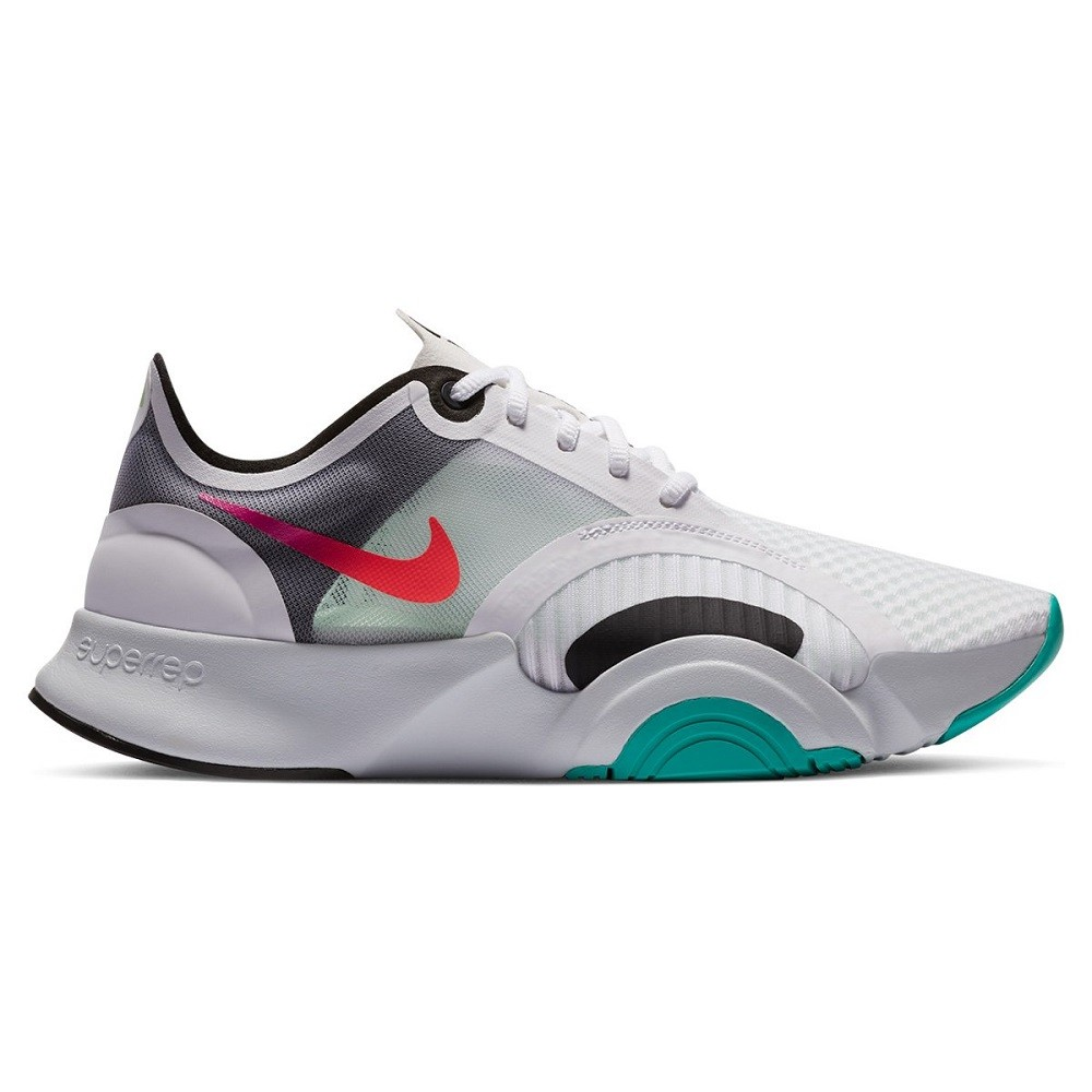 Tênis Nike SuperRep Go Feminino Branco Verde