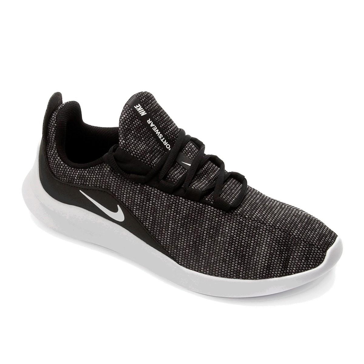 Tênis Nike Viale Premium Masculino Preto Branco