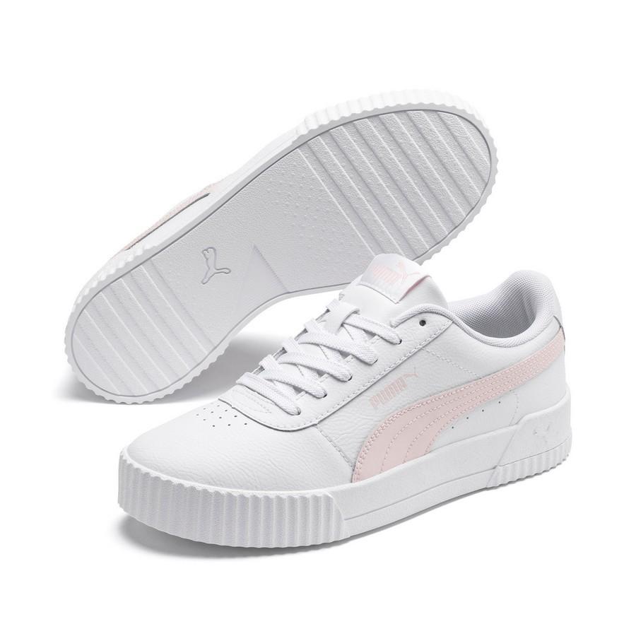 Tênis Puma Carina L Feminino Branco Rosa