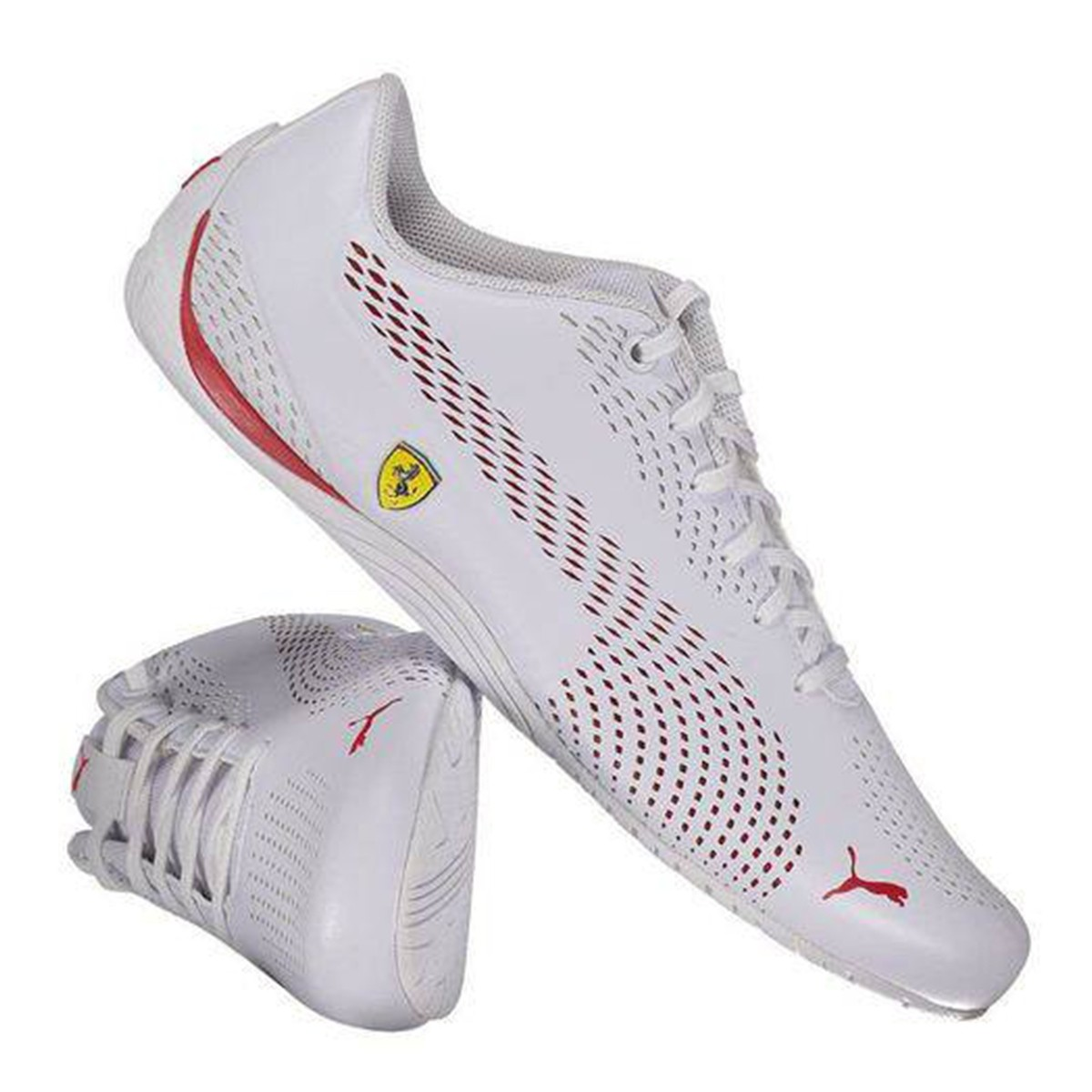 Tênis Puma Ferrari Sf Drift Cat 5 Ultra 2 - Branco - Masculino