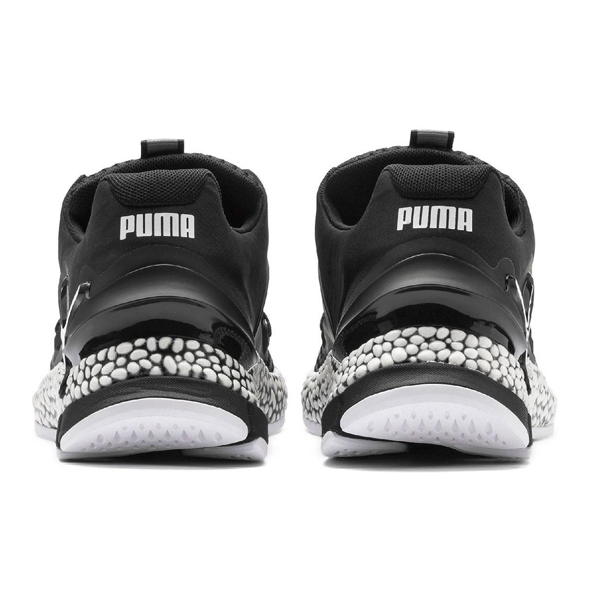 Tênis Puma Hybrid Sky Masculino - Chumbo e Branco