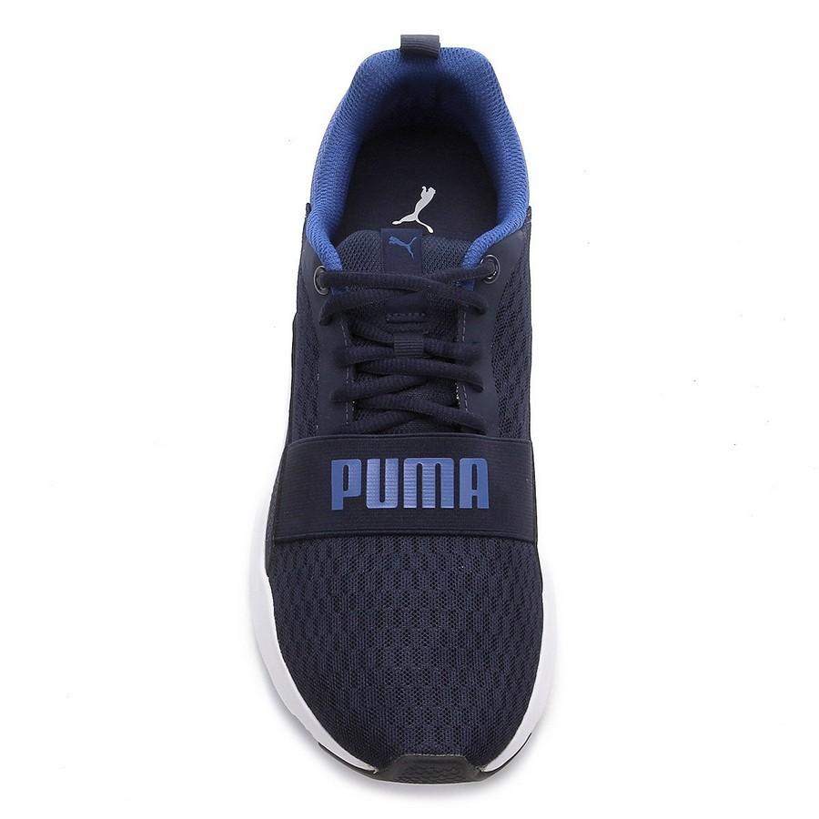 Tênis Puma Wired Cage Feminino Azul Marinho