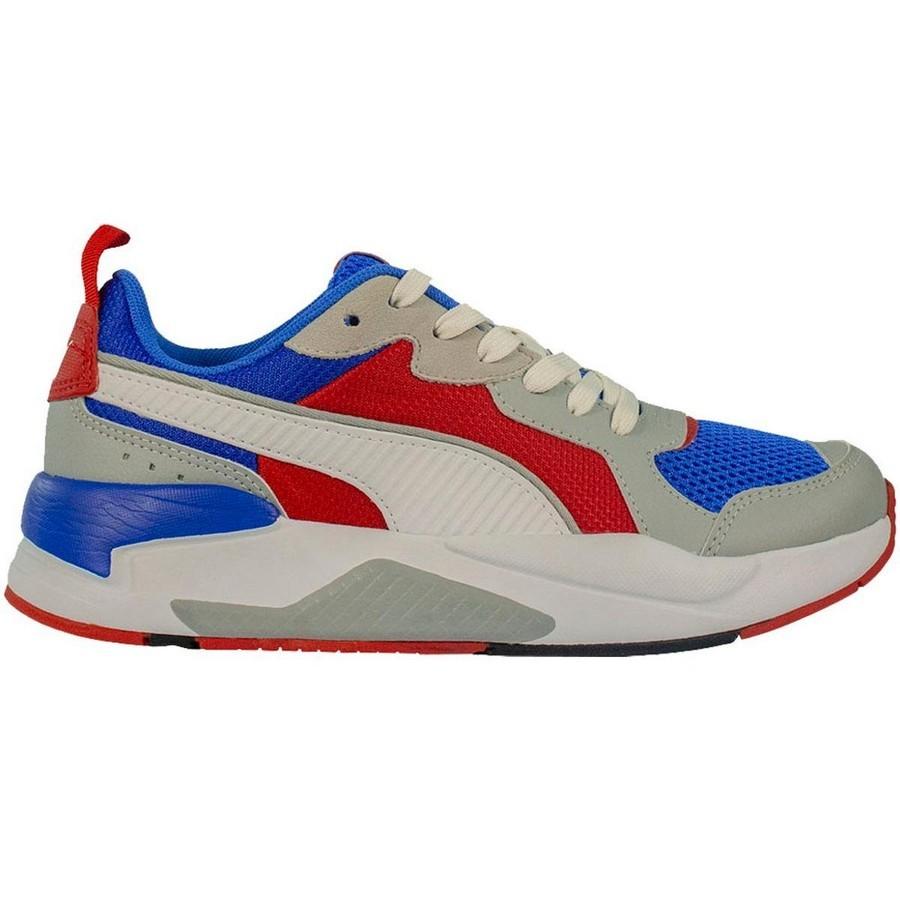 Tênis Puma Xray BDP Masculino Azul Branco Vermelho