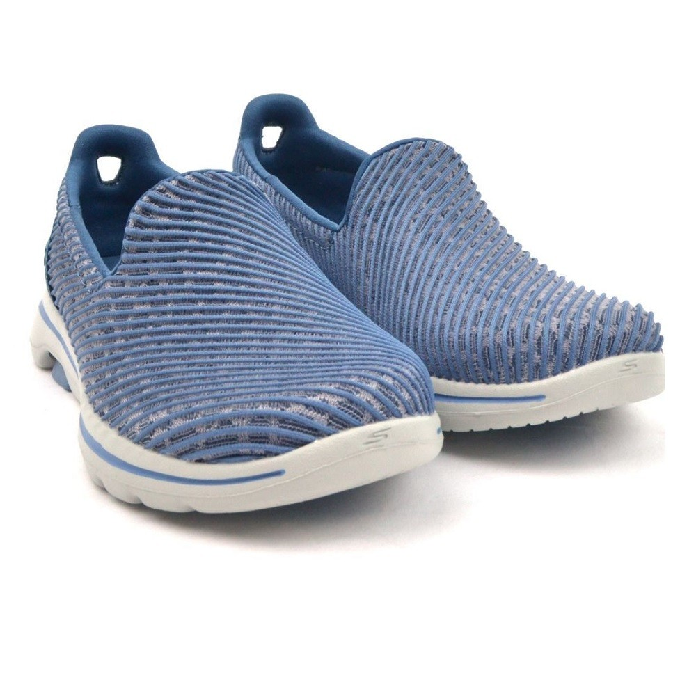 Tênis Skechers Go Walk 5 Miracle Feminino Azul