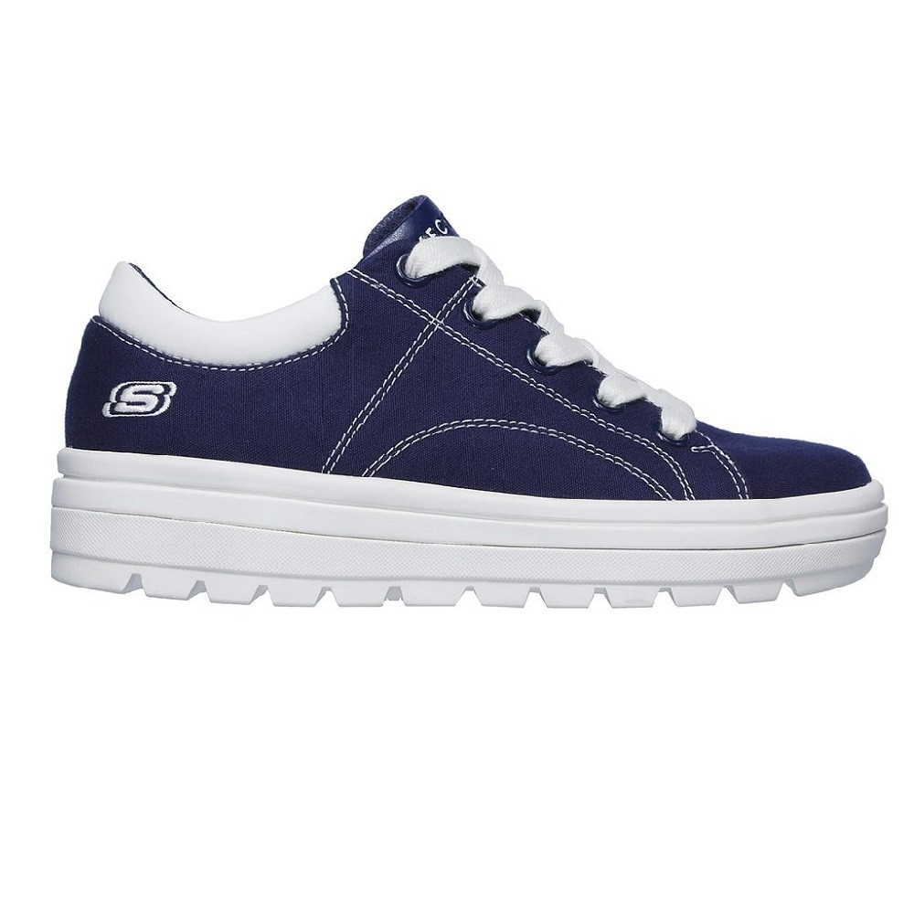 Tênis Skechers Street Cleat Bring It Back Feminino Marinho