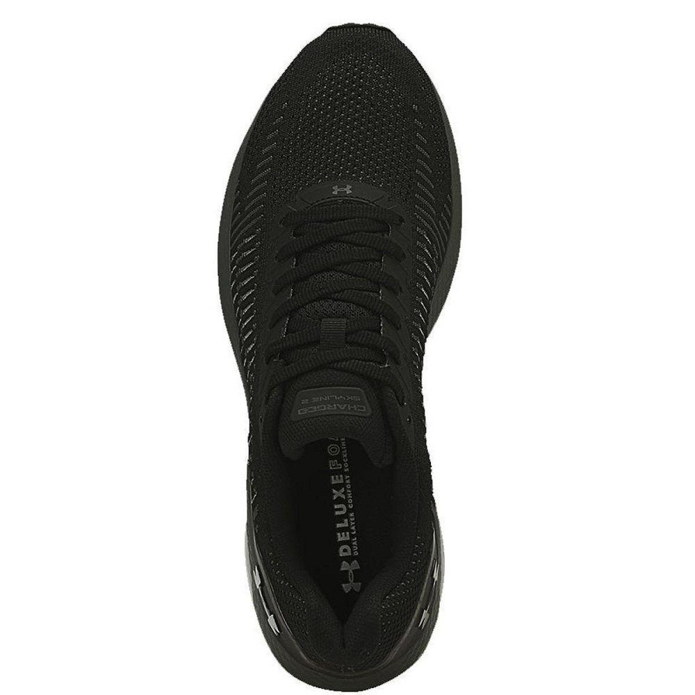 Tênis Under Armour Charged Skyline 2 Masculino Preto Cinza