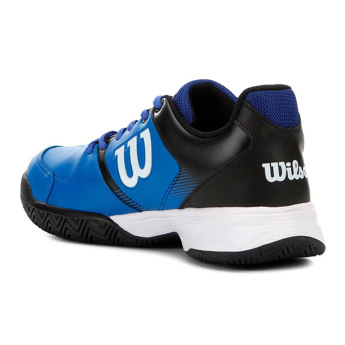 Tênis Wilson Open Masculino Azul Preto Branco