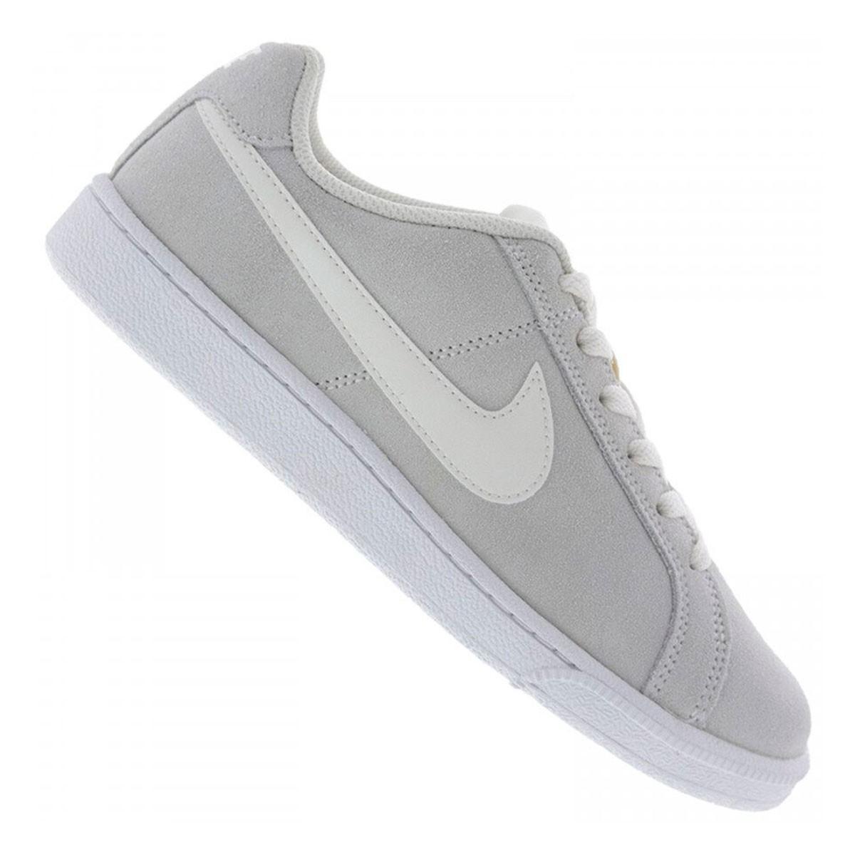 Tênis WMNS Nike Court Royale Prem Feminino Branco Grafite
