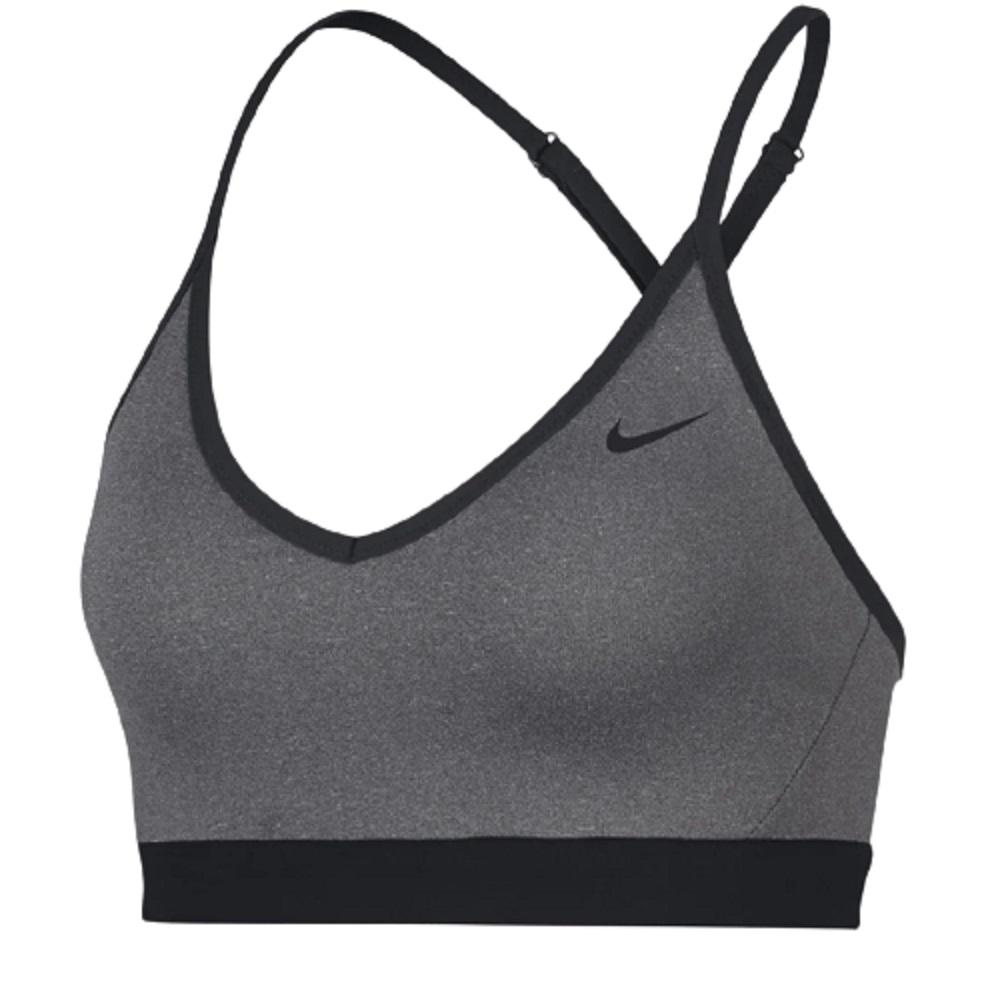 Top Nike Indy Feminino Cinza