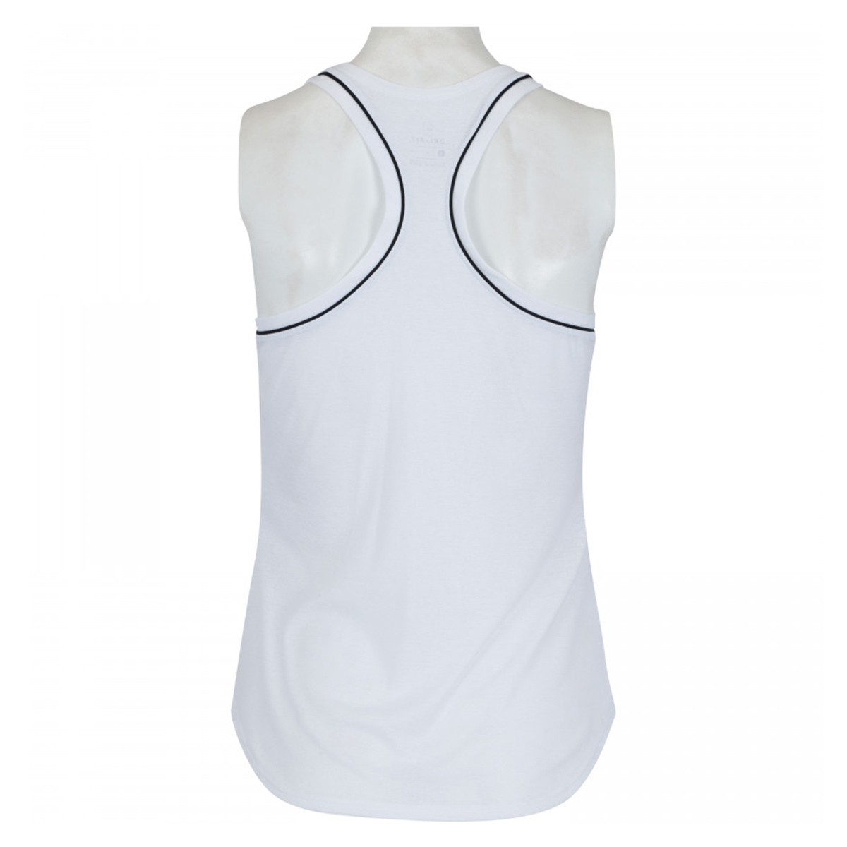 Top Nike Longo Dry Tank Branco - Feminina