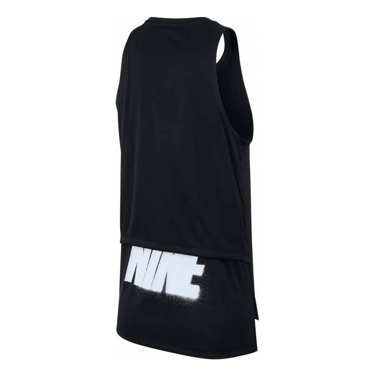 Top Nike Longo Tank Rebel GX Preto