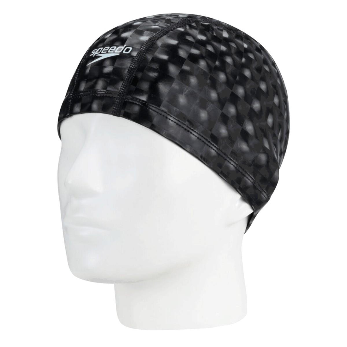 Touca de Natação Speedo Comfort 3D Preto