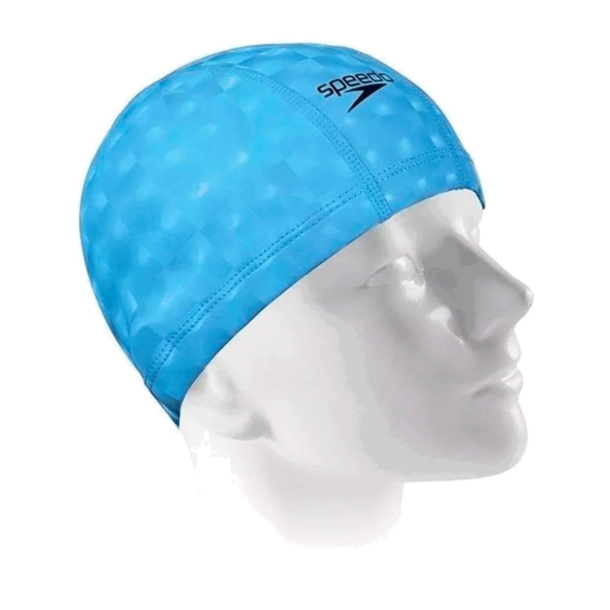 Touca Natação Speedo Confort 3D Azul