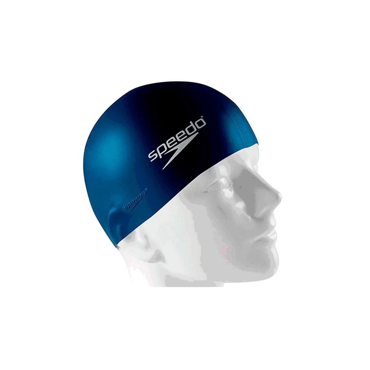 Touca Natação Speedo Junior Swim Cap Azul Marinho