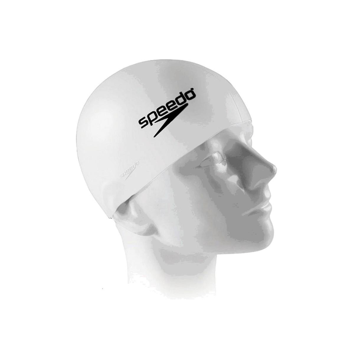 Touca Natação Speedo Junior Swim Cap Branco