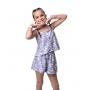 Short Carol flor indie kid