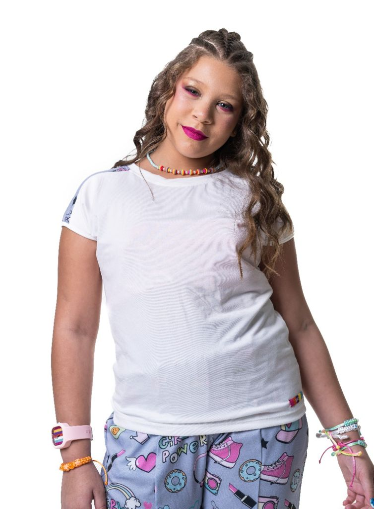 Blusa Carol girl power