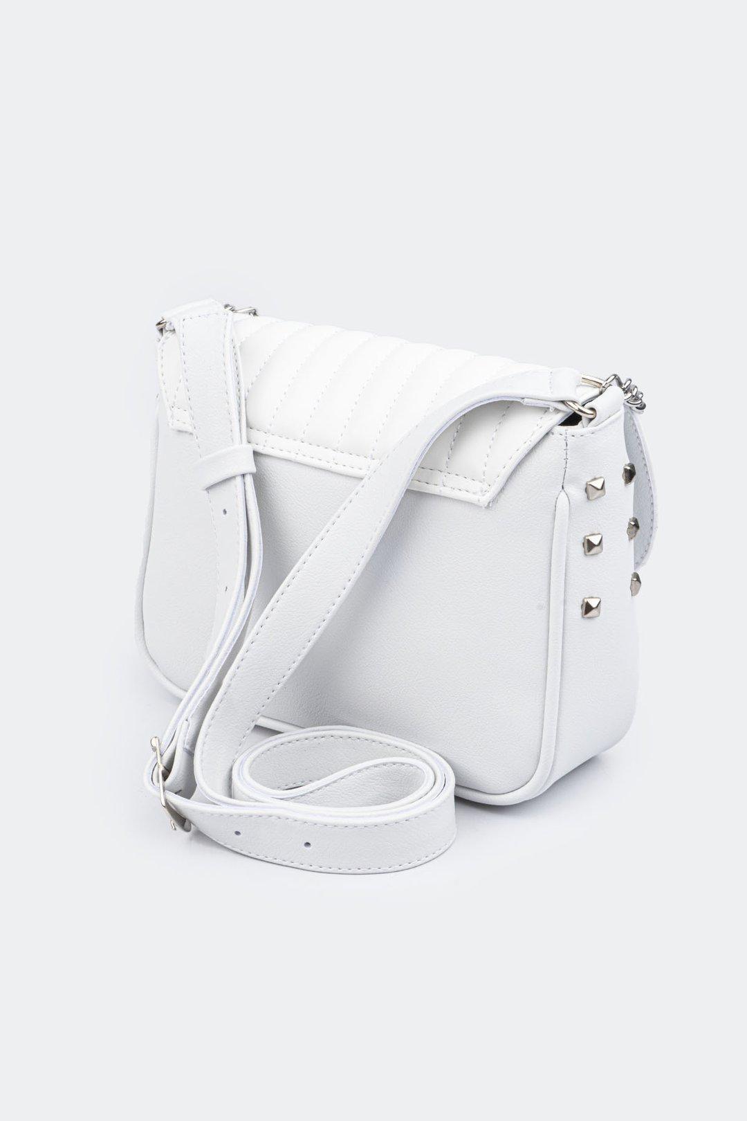 Bolsa magic com corrente e tachas