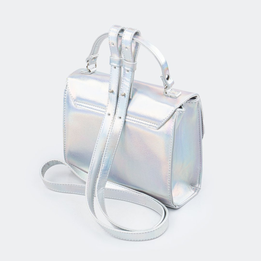 Bolsa tiracolo holográfica