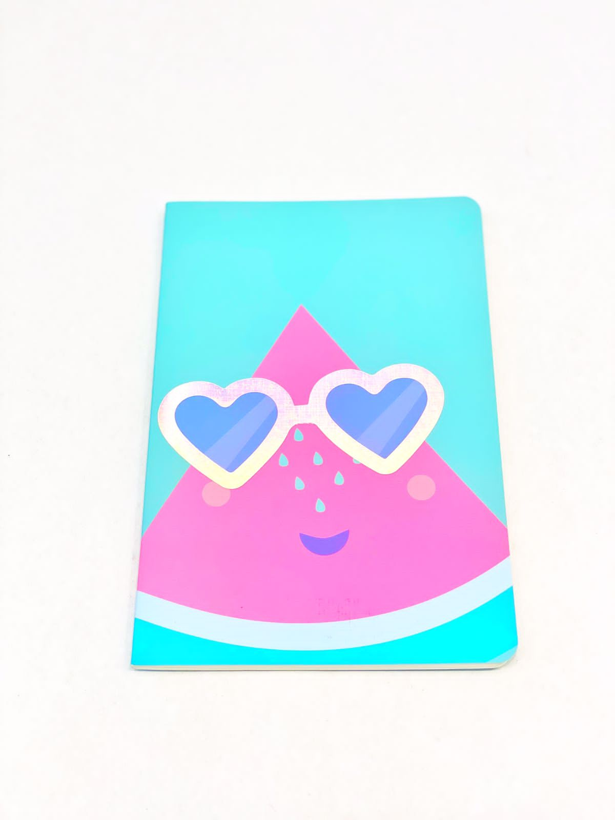 Caderneta divertida melancia