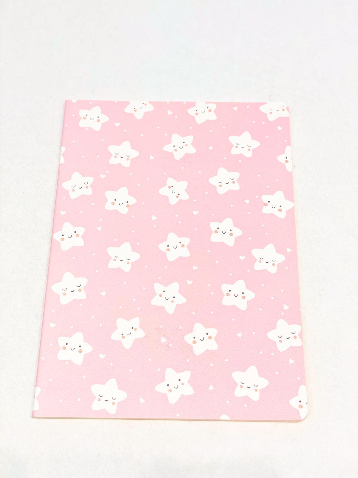 Caderno divertido estrelas candy