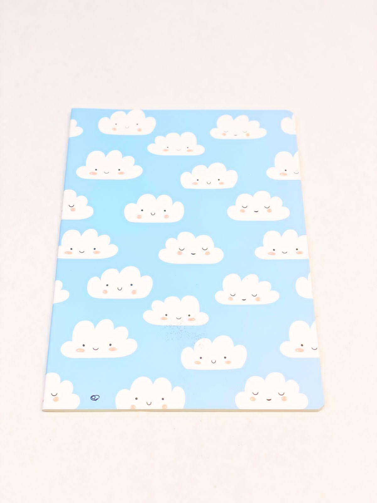 Caderno divertido nuvem