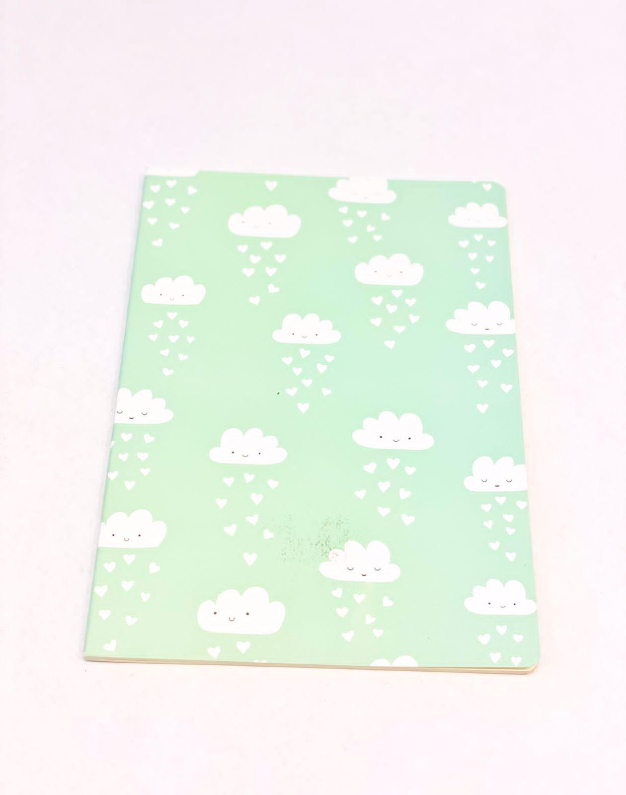 Caderno divertido nuvem de amor