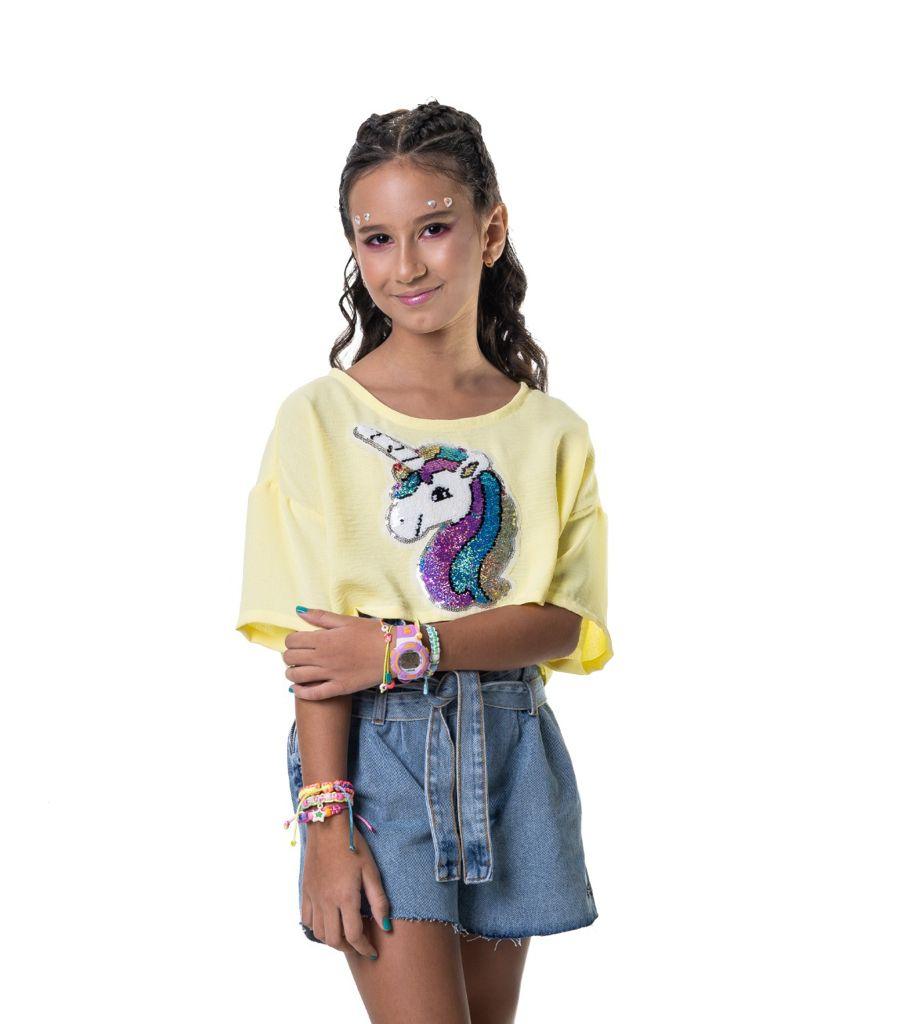 Cropped Gabi Unicorn