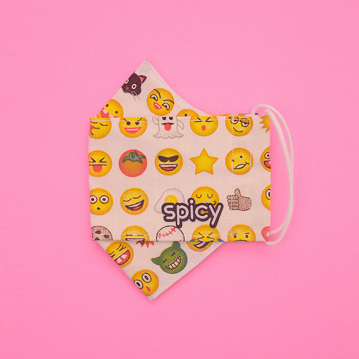 Máscara Cute Protect Emoji