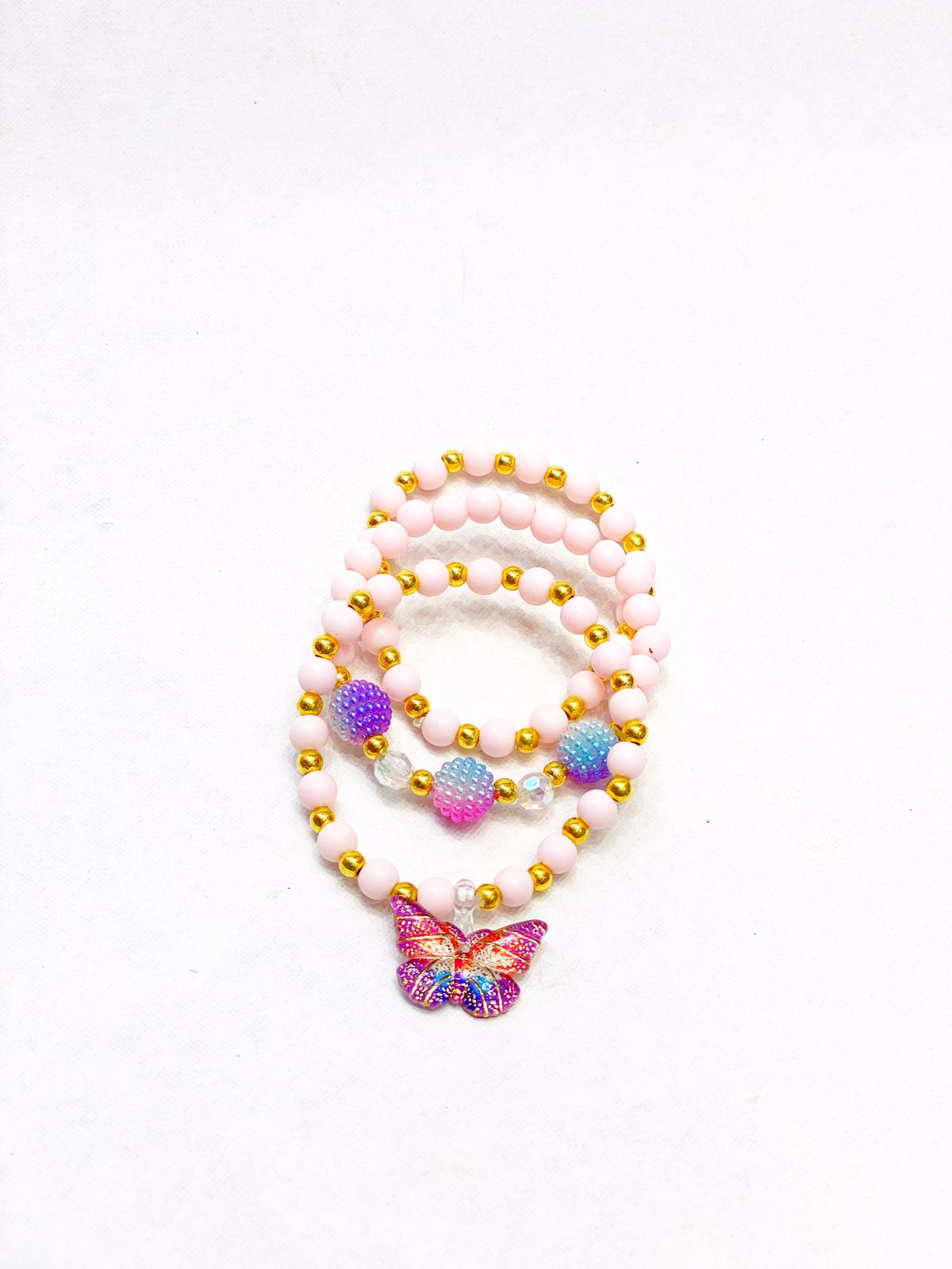 Pulseiras colorful butterfly
