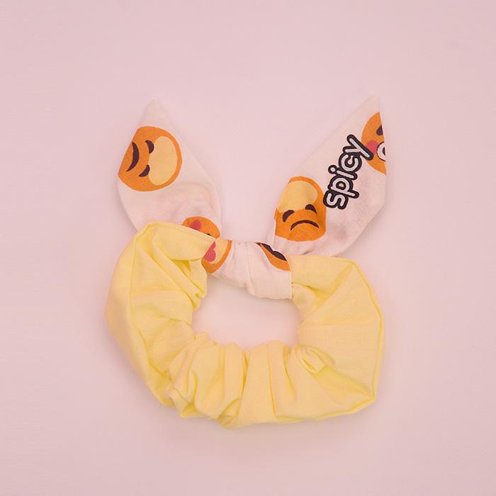 Scrunchie Cute Protect Smile