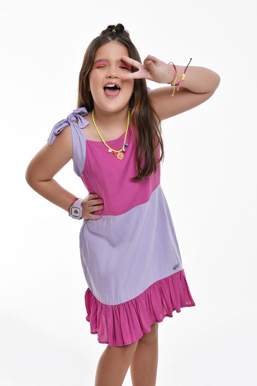 Vestido bicolor Sweet