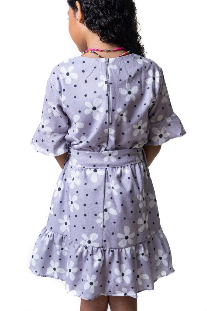 Vestido Júlia flor indie kid