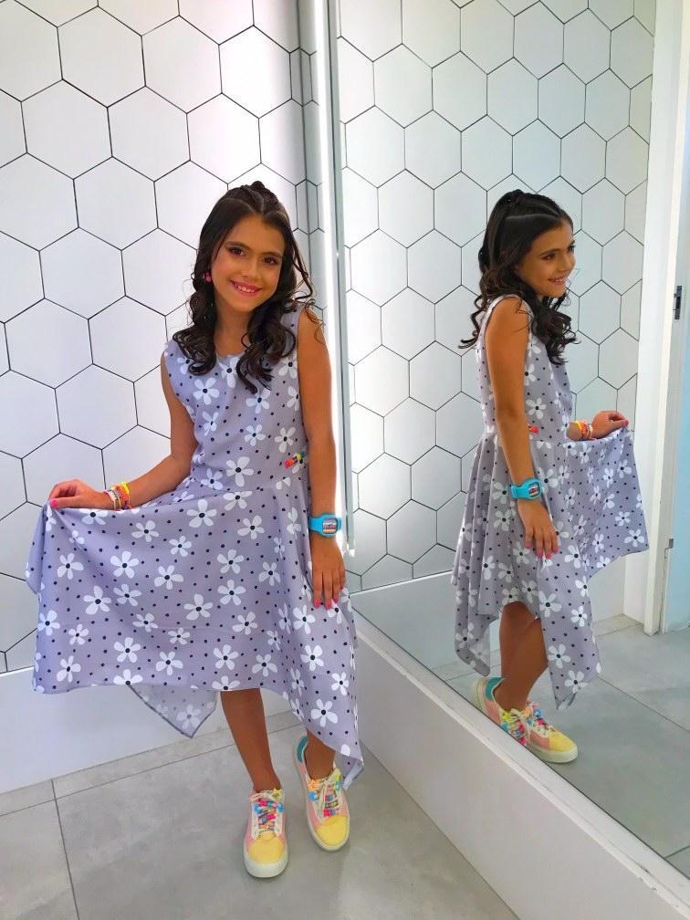 Vestido Raissa flor indie kid