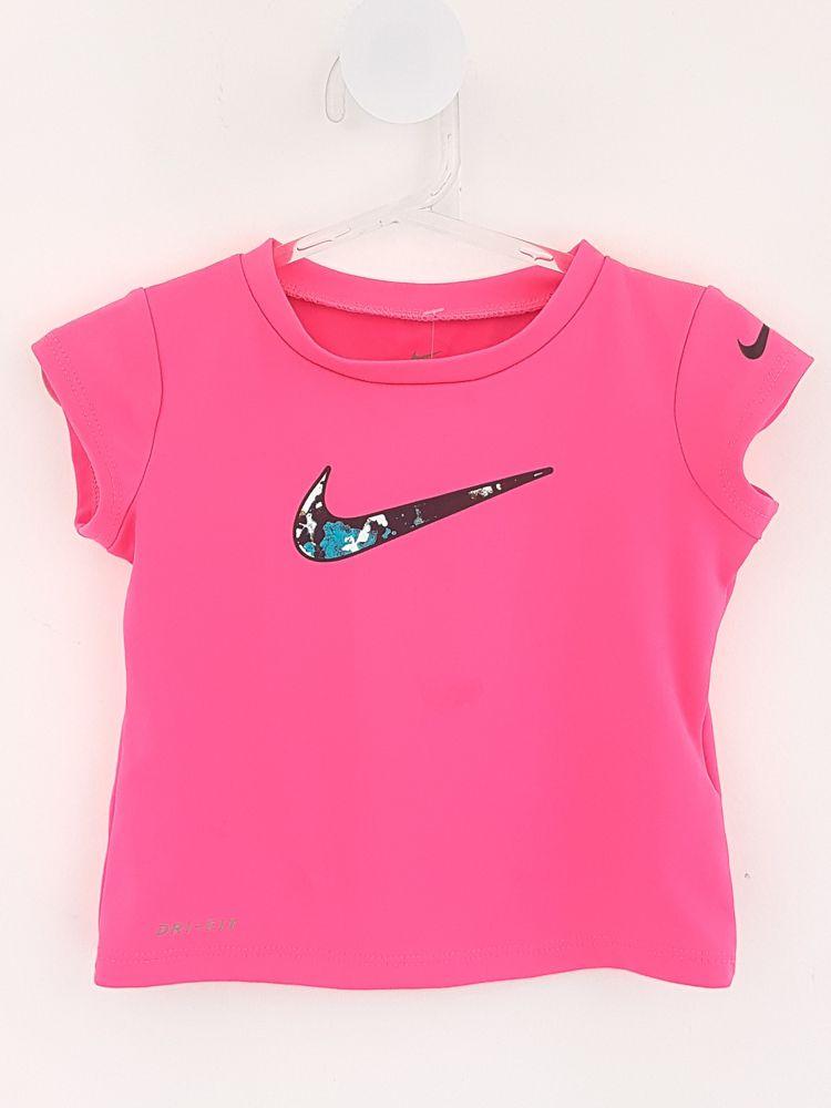 Blusa rosa neon Nike tam 18m