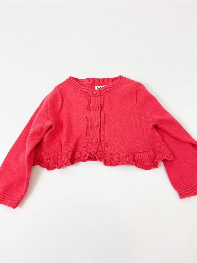 Bolero tricot rosa Oshkosh Baby B'gosh tam 12m