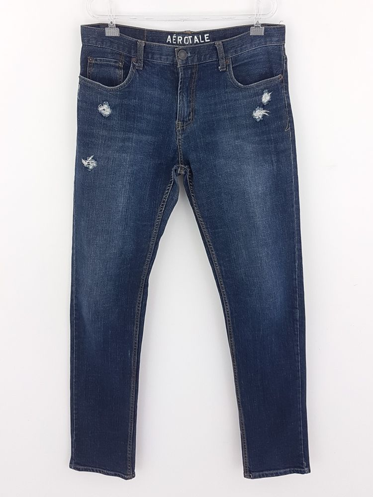Calça jeans azul escuro Aeropostale tam 36